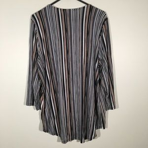 Dana Buchman Tops - Dana Buchman striped blouse